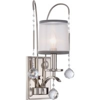 1 Light Wall Light - Imperial Silver Finish, E14
