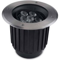 Outdoor LED Recessed Ground Uplight Stainless Steel