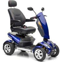 Nova Motors Vita vierrädriges Elektromobil Seniorenmobil mit einstellbarer Geschwindigkeit bis 6km/h und 50km Reichweite blau$*