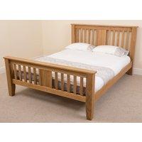 Boston Solid Oak 4FT 6 Double Bed