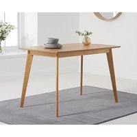 Product photograph showing Ex-display Sacha 120cm Dining Table