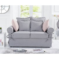 Read more about Clement grey linen 2 seater sofa