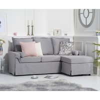 Read more about Clement grey linen 3 seater reversible chaise sofa