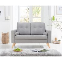 Chandler Grey Linen 2 Seater Sofa
