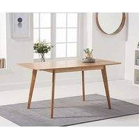Product photograph showing Ex-display Sacha 120cm Extending Dining Table