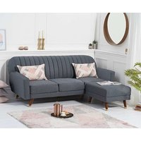 Product photograph showing Ex-display Lucia Sofa Bed In Grey Linen