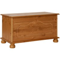 Product photograph showing Denmark Blanket Box In Pine