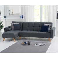 Ana Sofa Bed Left Facing Chaise in Grey Linen