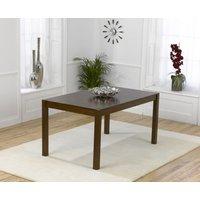 Oxford Dark Solid Oak 150cm Dining Table