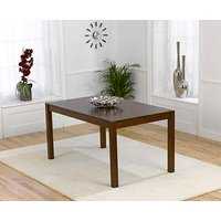 Product photograph showing Ex-display Oxford Dark Solid Oak 150cm Dining Table
