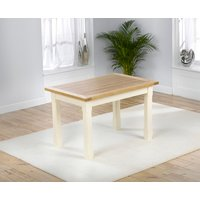 Product photograph showing Eton 150cm Solid Pine And Ash Kitchen Table