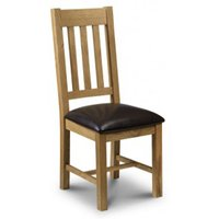 Read more about Medford solid oak dining chairs