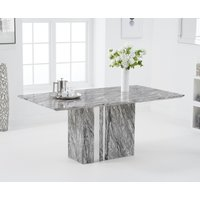 Alicia 180cm Grey Marble Dining Table