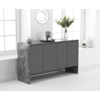 Dorit 140cm Grey Marble Sideboard