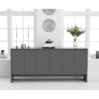 Dorit 180cm Grey Marble Sideboard