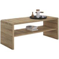 Moderne Oak Coffee Table & TV Unit