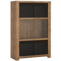 Product photograph showing Cabello 2 Door Display Cabinet