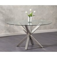 Rio Round Glass Dining Table