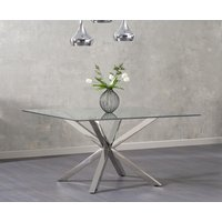 Read more about Rio square glass dining table