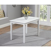 Read more about Chiltern 114cm white dining table