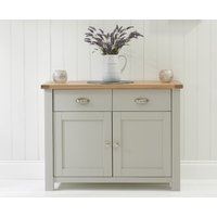 Read more about Somerset oak and grey 2 door 2 drawer sideboard
