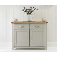 Read more about Ex-display somerset oak and grey 2 door 2 drawer sideboard