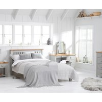 Read more about Somerset oak and grey king size bed