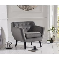 Read more about Tim grey velvet accent chair