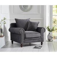 Read more about Eliza grey velvet armchair