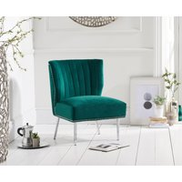 Read more about Lena green velvet accent chair