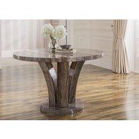 Aspen Grey Round Dining Table