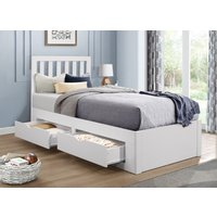 Raylee White Single Bed
