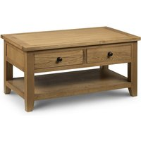 Read more about Medford oak 2 drawer coffee table