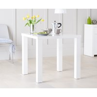 Read more about Atlanta 80cm white high gloss dining table