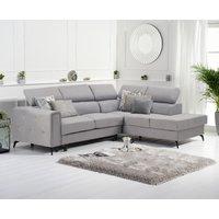 Avery Grey Linen Right Hand Facing Corner Sofa Bed