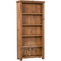 Product photograph showing Huari Oak Large Bookcase