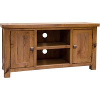 Read more about Huari oak 2 door tv cabinet