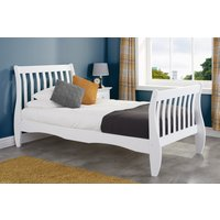 Evalyn White Single Bed