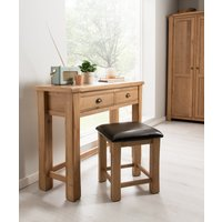Product photograph showing Breeze Dressing Table Stool Set