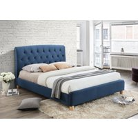 Wyoming Midnight Blue Small Double Bed