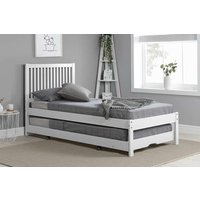 Bexton Trundle Bed in White