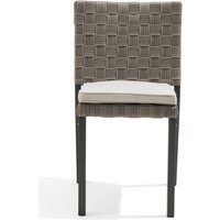 Product photograph showing Gardenia Grey Garden Chairs - Grey 2 Chairs