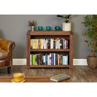 Read more about Nishio solid walnut low bookcase