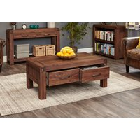 Read more about Nishio solid walnut 4 drawer coffee table