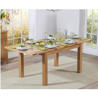Read more about Cheadle 130cm oak extending dining table