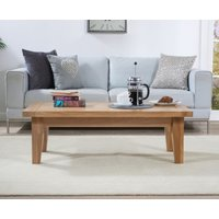 Product photograph showing Ex-display Cheadle Oak Coffee Table