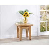 Product photograph showing Ex-display Cheadle Oak Lamp Table
