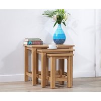 Read more about Cheadle oak nest of tables