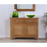 Product photograph showing Cheadle 120cm Oak Sideboard