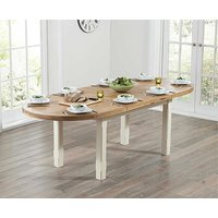 Read more about Ex-display chelsea oak and cream extending dining table
